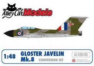 Gloster Javelin Mk.8 Conversion and Decal Set